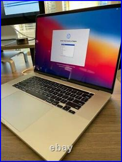 2019 Macbook Pro 16 i9 32gb, 2.4ghz, 512MB 5300M Only 10 Cycle Counts