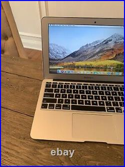Apple 11 MacBook Air 2013 1.3GHz Core i5 128GB SSD 4GB A1465 Under 400 Cycles