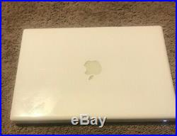 Apple A1181 MacBook 13.3 Laptop with Intel Core 2 Duo 2.0GHz 2GB RAM 120GB HDD