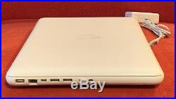 Apple MacBook 2.26GHz Core 2 Duo 250GB HDD 2GB RAM 13-inch Late- 2009 White