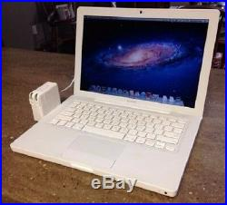 Apple MacBook A1181-2.0GHz C2D-2.0GB RAM-60GB HDD-AC CHARGER/ADAPTER/BATTERY