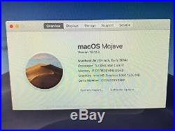 Apple MacBook Air 13.3 early 2014 1.7GHz i7, 8GB RAM, 512GB SSD Great Condition