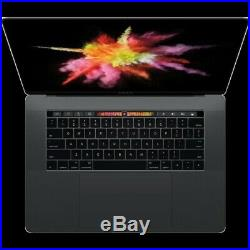 Apple MacBook Pro 15 2017 Touch bar 2.8ghz i7 16gb 256GB SSD 1 cycle MPTR2LL/A