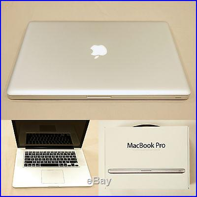 Apple MacBook Pro 15 Mid-2012 Quad Core i7 2 6 GHz up to 3 6