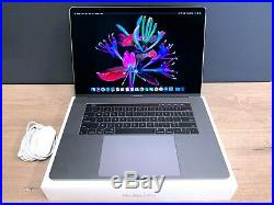 Apple MacBook Pro 15 RETINA Space Gray / TOUCH BAR / 512GB SSD / WRNTY / OS2019