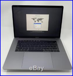 Apple MacBook Pro 15 Touch Bar (256 GB, 4.1GHz, 16GB) MR932LL/A Space Gray