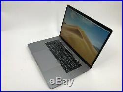 Apple MacBook Pro 15 Touch Bar 2.6GHz QC i7 256GB SSD 2016 Space Gray VERY GOOD