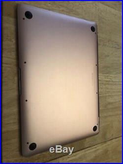 Apple Macbook 12-inch 2017 1.4GHz i7 512GB SDD 16GB RAM Rose G Maxed Out! Mint