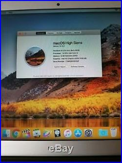 Great Condition MacBook Air 13 2015 1.6GHz Core i5 8GB RAM 256GB SSD