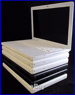 Lot of 6 2006-2009 A1181 Apple MacBook Incomplete Laptops for Parts/Repair AS-IS