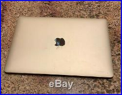MacBook 12 256GB MNYK2LL/A (June, 2017, Gold) GREAT CONDITION