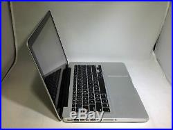 MacBook Pro 13 Silver Mid 2012 2.5GHz i5 4GB 500GB HDD Good Condition