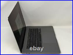 MacBook Pro 16-inch Space Gray 2019 2.4GHz i9 32GB 5500M 8GB 2TB SSD Excellent
