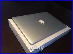 Maxed Out Apple MacBook Air 13 1.7Ghz i7, 8GB RAM, 512MB SSD