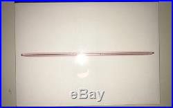 NEWEST FACTORY SEALED Apple 12 MacBook 512GB Early 2016 ROSE GOLD MMGM2LL/A