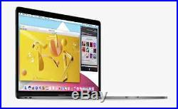 NEW UPGRADED 2016 Apple 13 MacBook Pro witho Touch Bar Gray 2.4Ghz i7 16GB 1TB