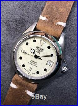 Serviced Vintage Custom TAG HEUER 1000 Pro 980.113 Lume Dial Submariner Diver