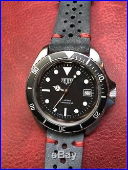 Tested! Vintage Tag Heuer 844-2 Automatic Monnin Submariner Swiss Diver Watch