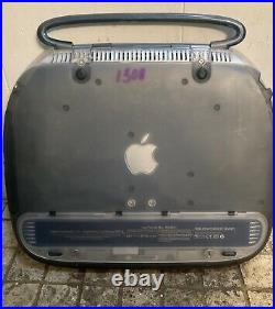 Vintage Apple iBook G3 Clamshell Graphite 366MHz 128MB RAM 6GB HD with Adapter
